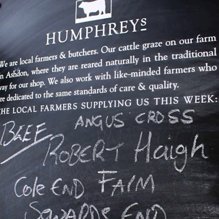 Humphrey's butchers